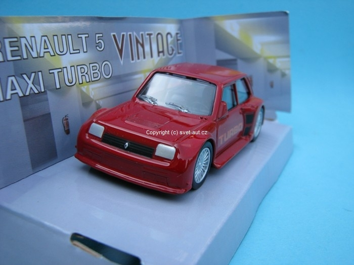 Renault R5 Maxi Turbo red 1:43 Mondo Motors