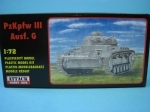 Tank PzKpfw III Ausf. G stavebnice 1:72 Attack