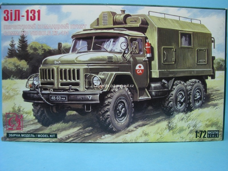 Zil 131 Command Vehicle stavebnice 1:72 MAC