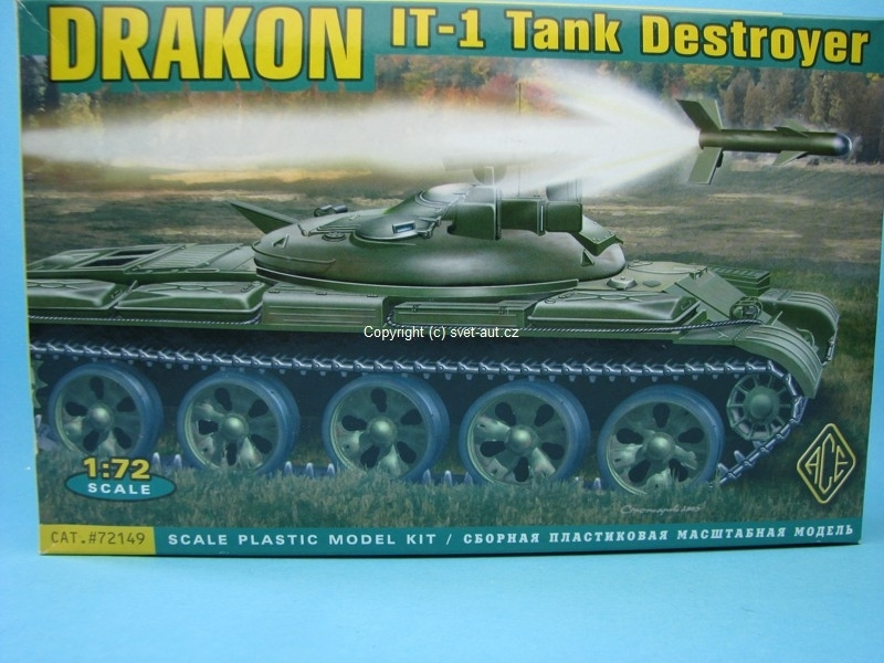 Drakon IT-1 Tank Destroyer stavebnice 1:72 MAC