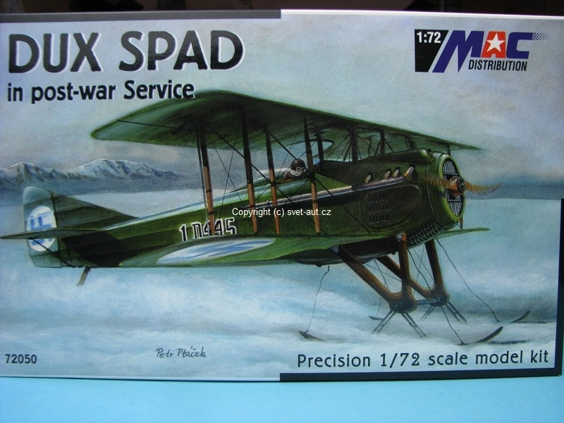 Dux Spad in post-war service stavebnice 1:72 MAC