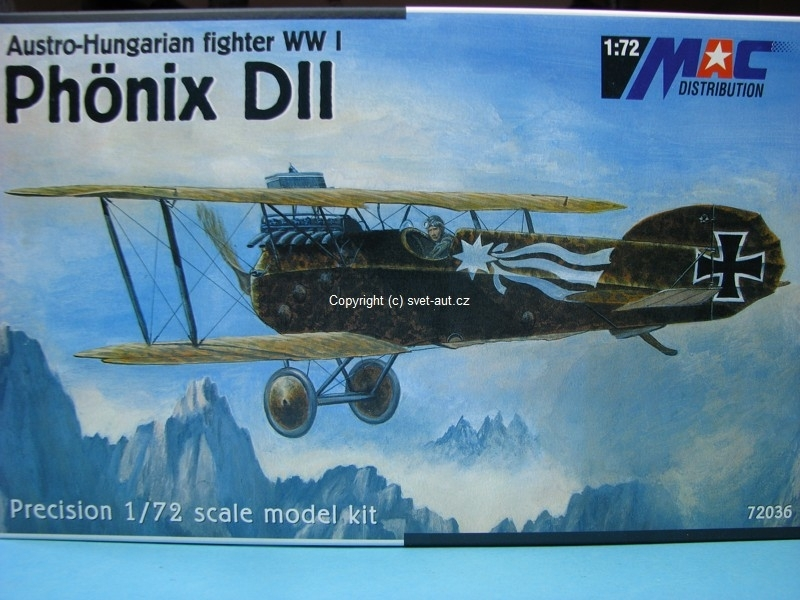 Phonix DII stavebnice 1:72 MAC 72036