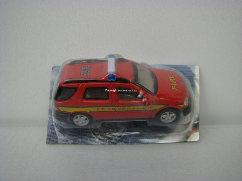Mercedes ML320 Fire blistr 1:72 Cararama