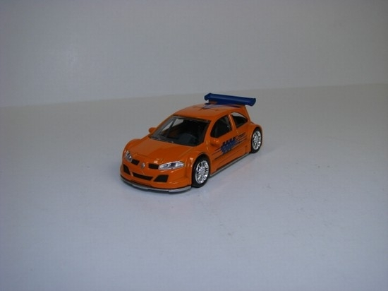 Renault Megane Trophy 2005 orange Norev