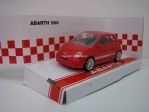 Fiat 500 Abarth red 1:43 Mondo Motors