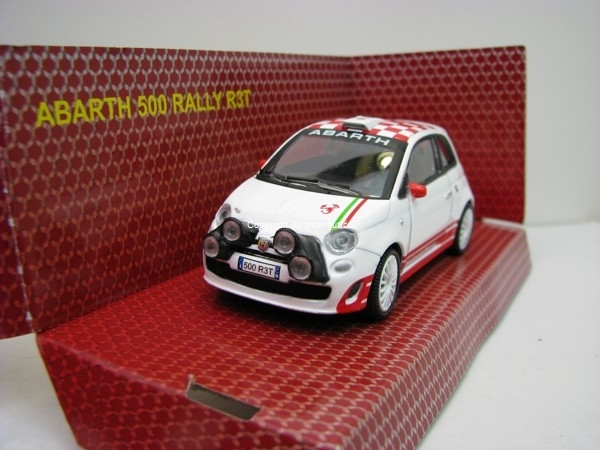 Fiat 500 Abarth Rally R3T 1:43 Mondo Motors