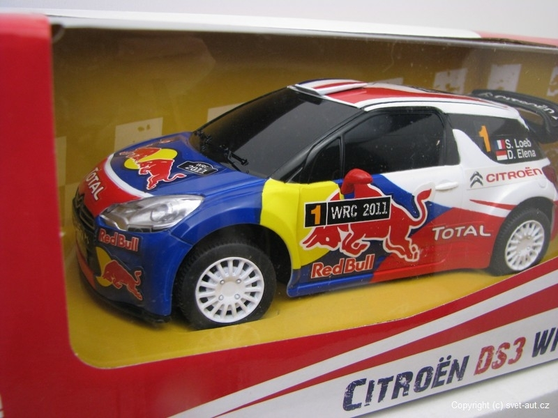 Citroen DS3 WRC 2011 Loeb RC model 27MHz 1:24 Mondo Motors