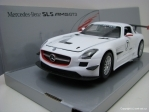 Mercedes-Benz SLS AMG GT3 white 1:24 Mondo Motors