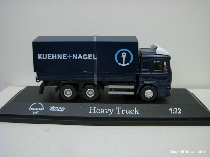 Man F2000 Heavy Truck 1:72 Mondo Motors