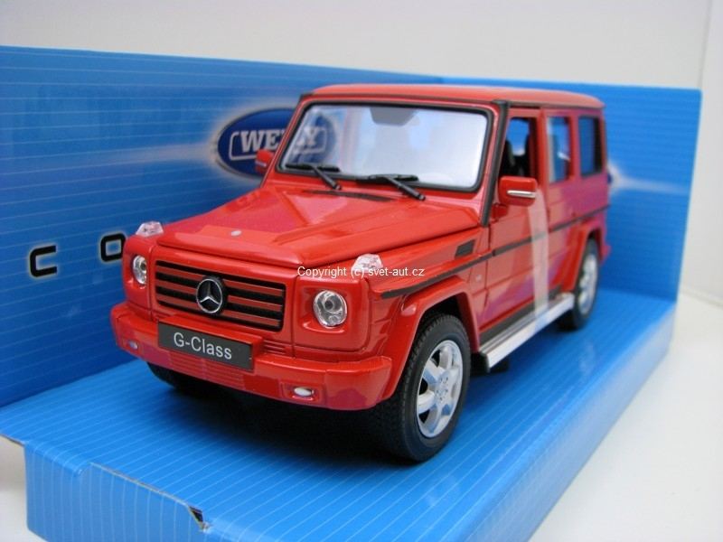 Mercedes-Benz G-Class red 1:24 Welly