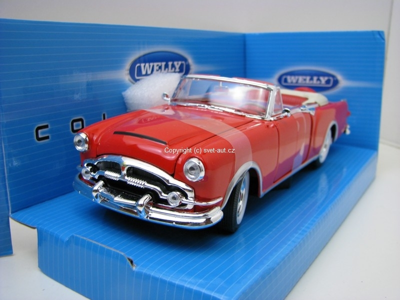 Packard Caribbean Cabrio red 1:24 Welly
