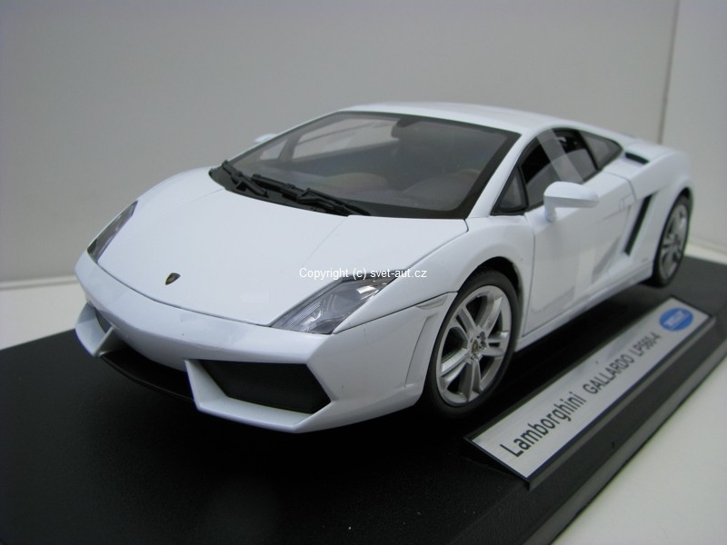 Lamborghini Gallardo LP560-4 white 1:18 Welly