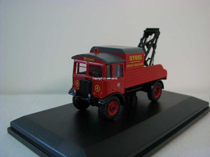 AEC Matador Wrecker Wynns 1:76 Oxford