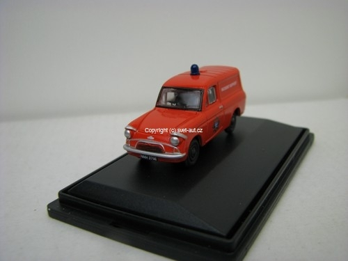 Ford Anglia Fire Incident Support 1:76 Oxford