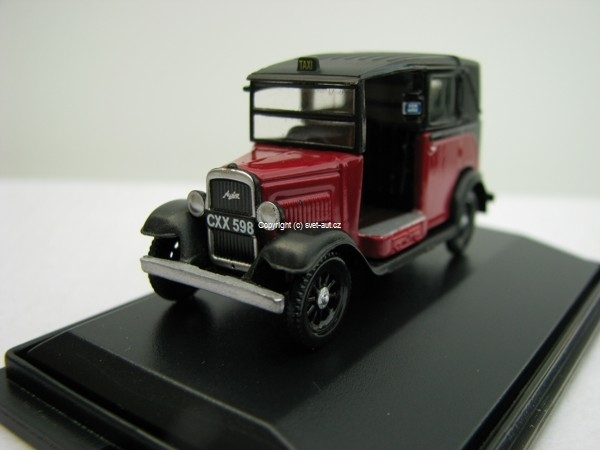 Austin Low Loader Burgundy 1:76 Oxford