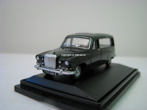 Daimler DS420 Black Hearse 1:76 Oxford