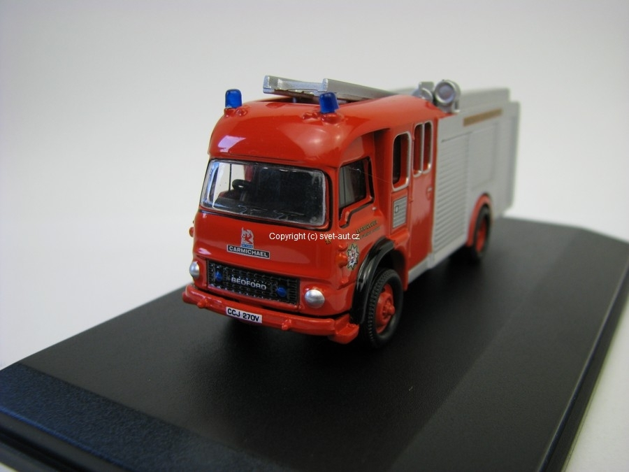 Bedford Mid a West Wales Fire TK 1:76 Oxford