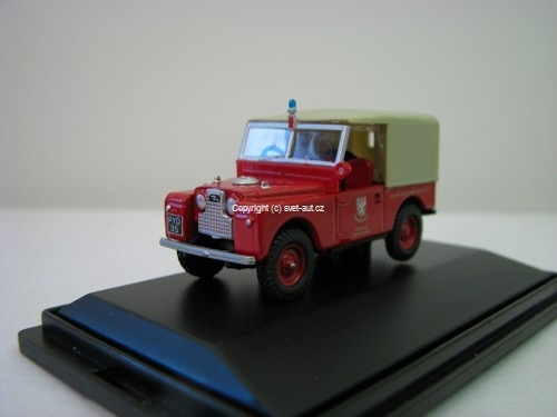 Land Rover 88 Somerset Fire Brigade 1:76 Oxford