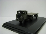 Mechanical Horse Flatbed Trailer Royal Army Service Corps 1:76 Oxford