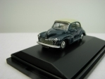 Morris Minor Convertible closed blue 1:76 Oxford
