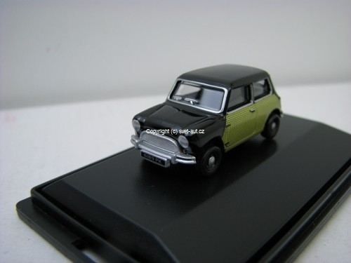 Austin Mini Peter Sellers Old 1:76 Oxford