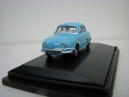 Renault Dauphine light blue 1:76 Oxford