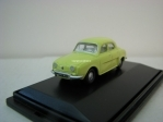 Renault Dauphine yellow 1:76 Oxford