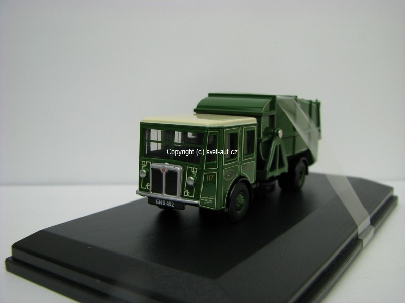 Shelvoke a Drewry Dustcart Manchester Corp Cleansing dept 1:76 Oxford
