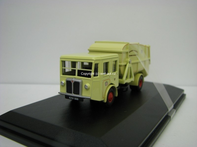 Shelvoke a Drewry Dustcart Corporation of London 1:76 Oxford