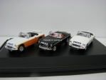 MGB Roadster Lancashire Police set 3 kusy 1:76 Oxford