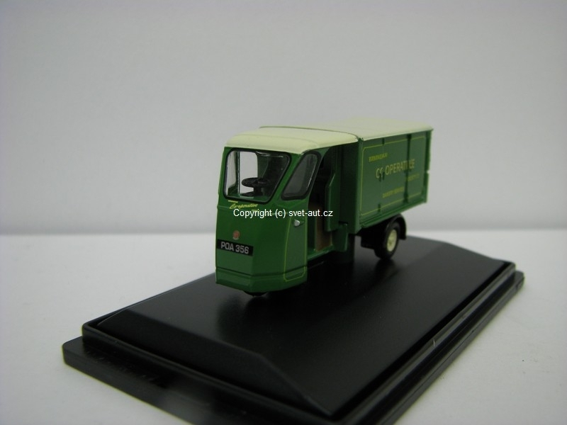 Mechanical Horse Wales a Edwards Bakery Van 1:76 Oxford