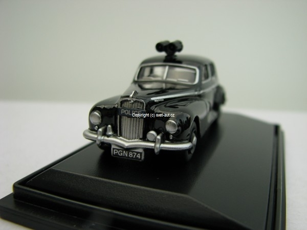 Wolseley 6/80 Metropolitan Police 1:76 Oxford