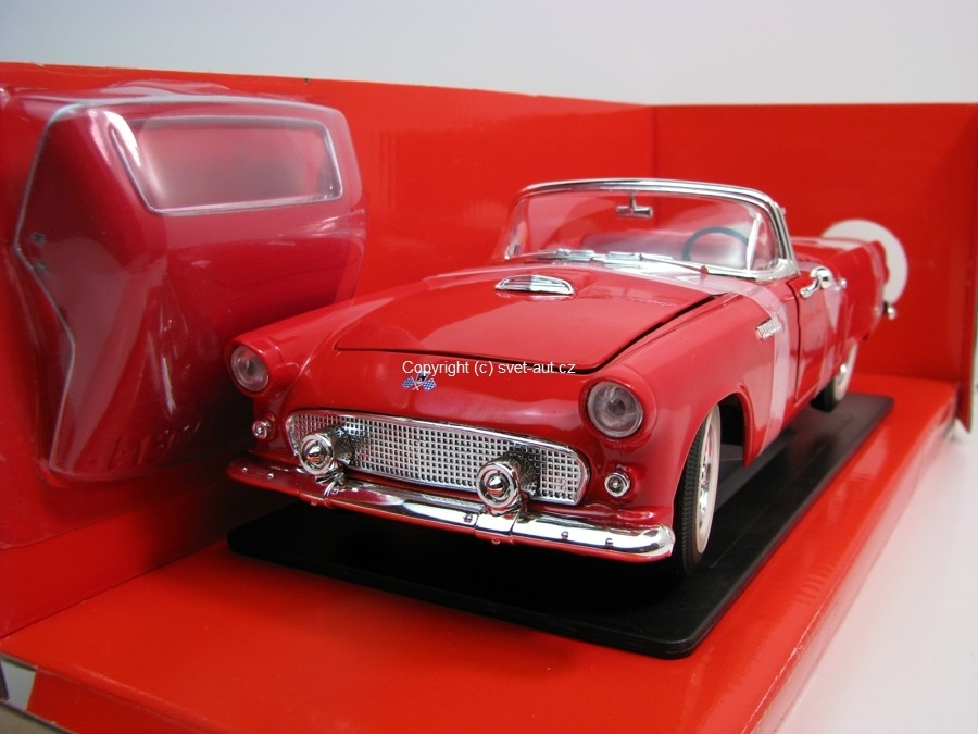 Ford Thunderbird 1955 red 1:18 Yatming