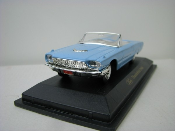 Ford Thunderbird 1966 Blue 1:43 Yat Ming