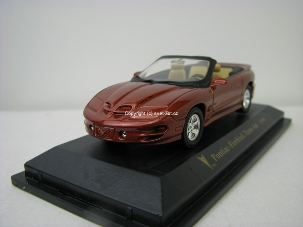 Pontiac Firebird Trans Am 1999 brown 1:43 Yat Ming