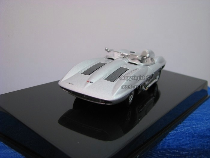 Chevrolet Corvette Stingray 1959 silver 1:43 Autoart