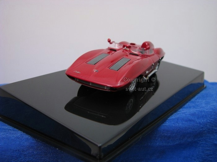 Chevrolet Corvette Stingray 1959 red 1:43 Autoart