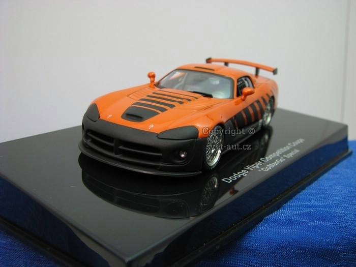 Dodge Viper Competition Coupe Go Man Go special 1:43 Autoart