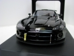 Dodge Viper Competition Car Plain Body Version Black 1:18 Autoart