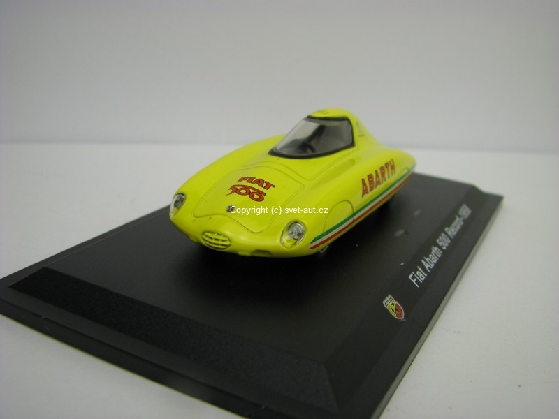 Fiat Abarth 500 Record 1958 1:43 Atlas