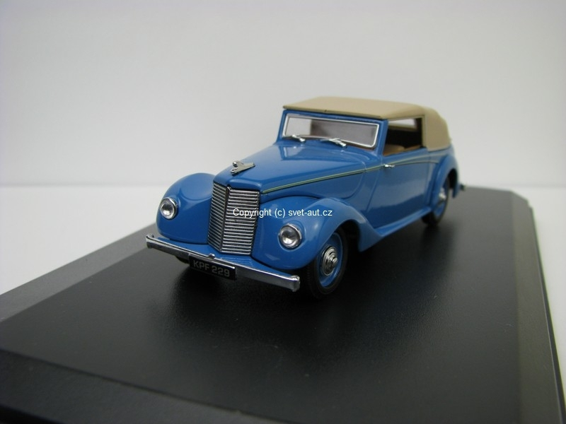 Armstrong Siddeley Huricane closed Bluebird Blue 1:43 Oxford