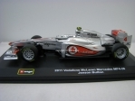 McLaren Mercedes MP4-26 Vodafone 2011 No.4 Jenson Button 1:32 Bburago