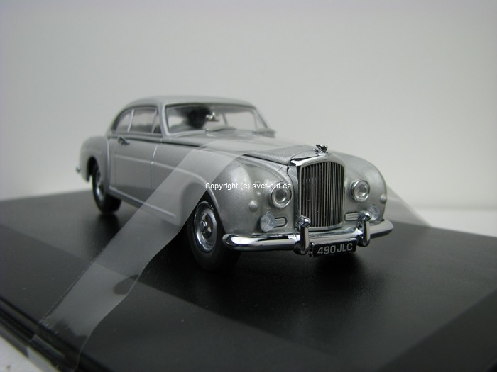 Bentley S1 Continental Fastback Shell grey 1:43 Oxford