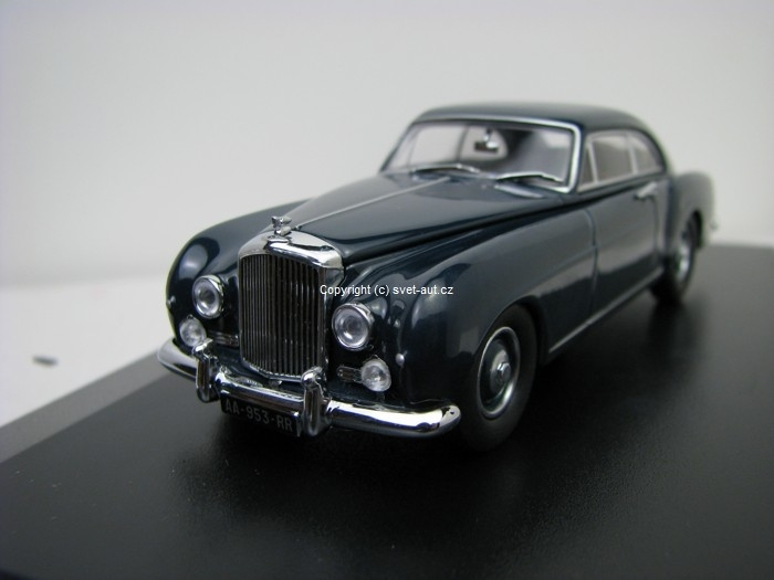 Bentley S1 Continental Fastback Dawn Blue 1:43 Oxford