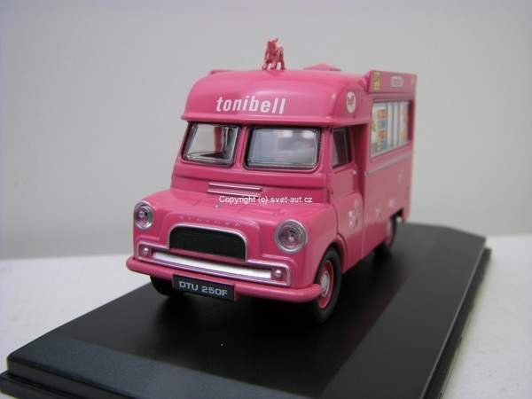 Bedford CA Ice Cream Tonibell 1:43 Oxford