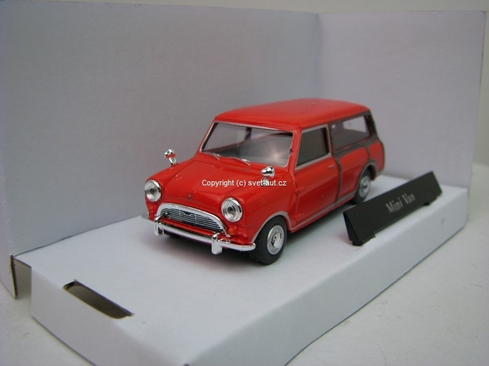 Mini Van stone red 1:43 Cararama