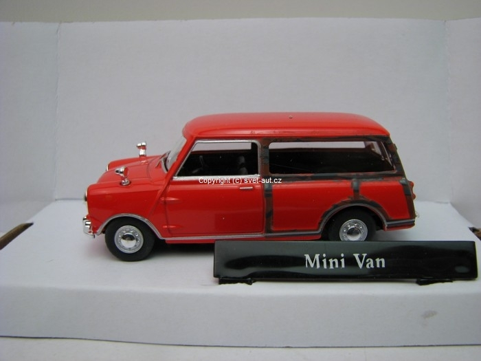 Mini Cooper Van red 1:43 Cararama