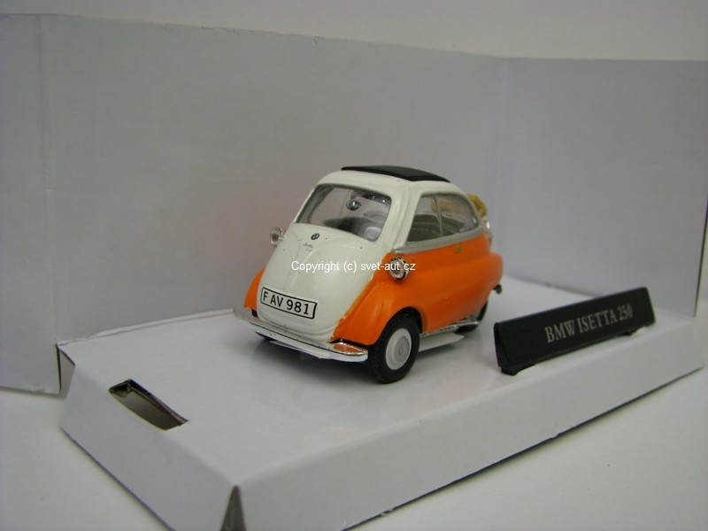 BMW Isetta 250 orange 1:43 Cararama