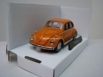 Volkswagen Beetle Orange 1:43 Cararama