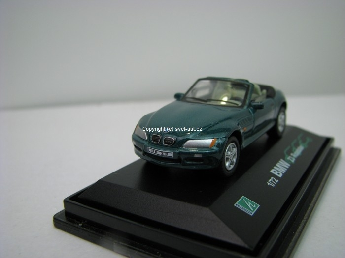 BMW Z3 Roadster green 1:72 Cararama
